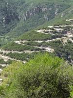 Vradeto kasseien tocht aansluiten Kapesovo en Vradeto dorpen in Zagori